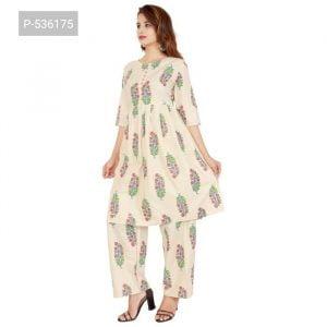 cotton kurti with plazzo